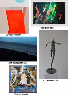 bbk-Künstler in der Verwaltungs- und Wirtschaftsakademie