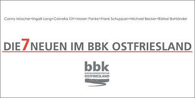 Die 7 Neuen im bbk Ostfriesland